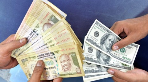 Rupee drops 7 paise against US dollar