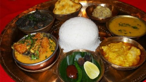 Assam offers a culinary tradition distinctly different from the rest of India