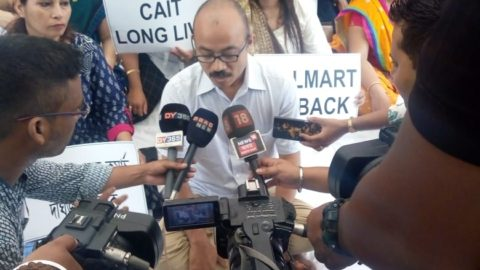Assam Chamber of Commerce stages dharna over demands