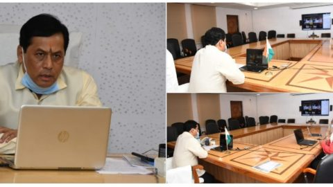 CM interacts with district presidents of the ACC through VC